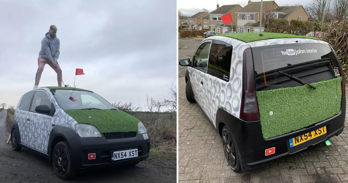 1 225.jpg?resize=1200,630 - Two Amateur Golfers Converted Their Car Into A Mobile Golf Range