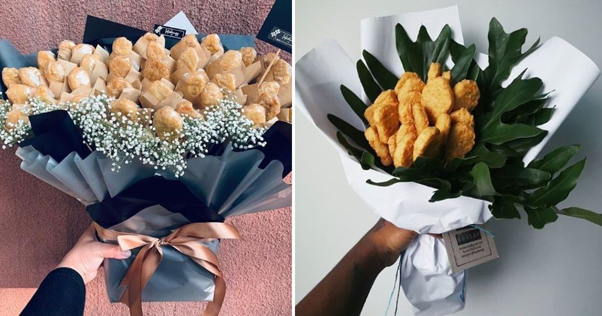 1 279.jpg?resize=1200,630 - Bouquet Of Chicken Nuggets Is The Latest Trend For Valentine's Day Gift