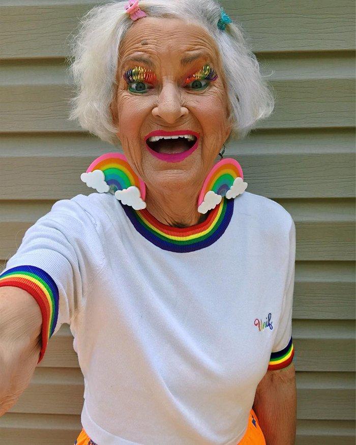 A Stylish Grandma Aka Baddie Winkle Is A 92 Year-Old