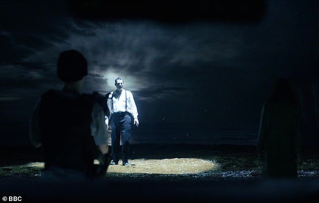 Unexpected:The biggest surprise came at the end of the second instalment, as Dracula was seen walking through the ocean to arrive at England, only to discover it was the modern day