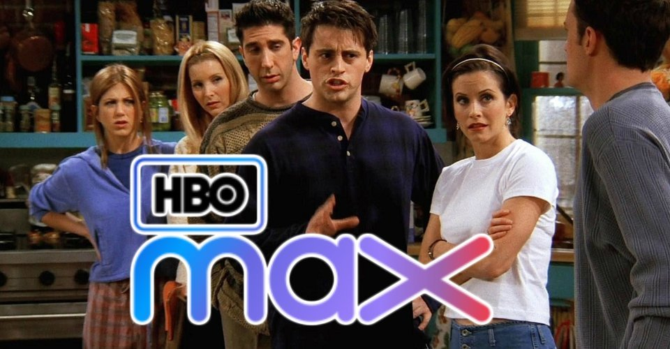 Image result for HBO max friends