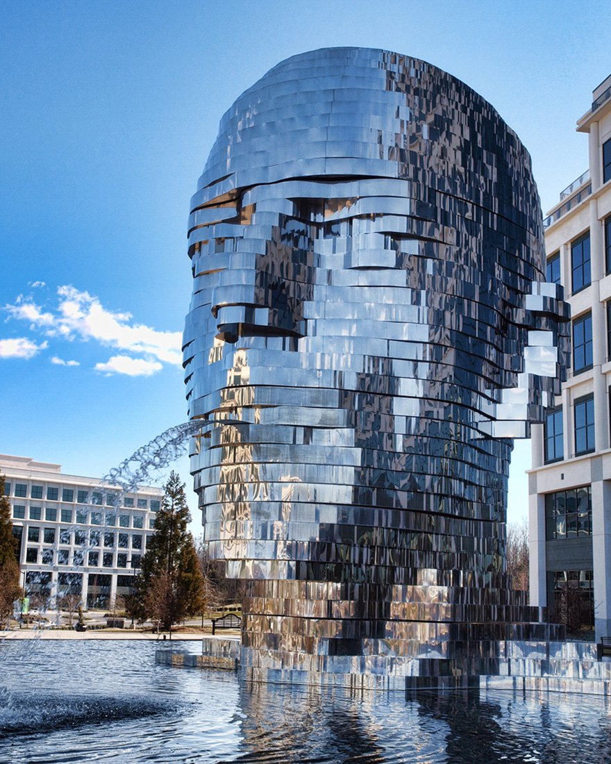 Metalmorphosis By David Cherny At The Whitehall Technology Park, Charlotte, Nc