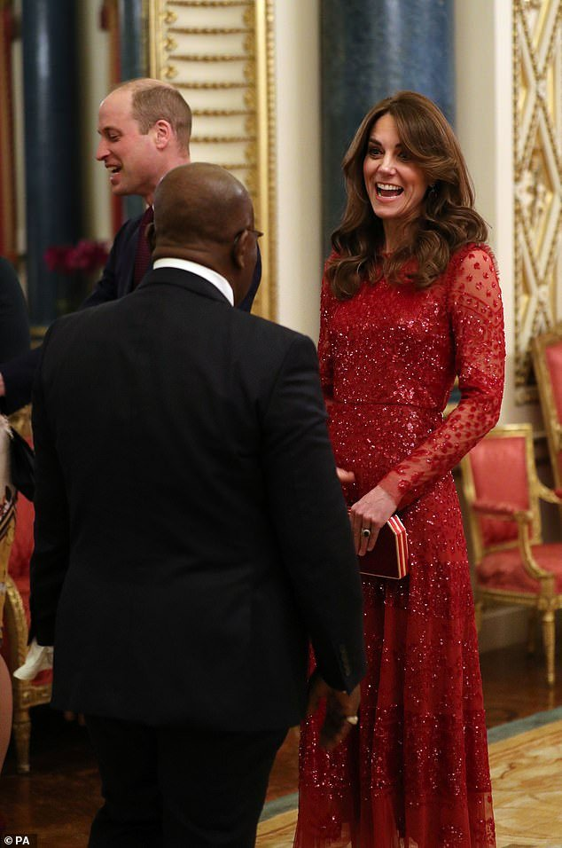 The royal looked all smiles as she arrived alongside husband Prince William in the high-end high street brand - which is also loved by Princess Beatrice