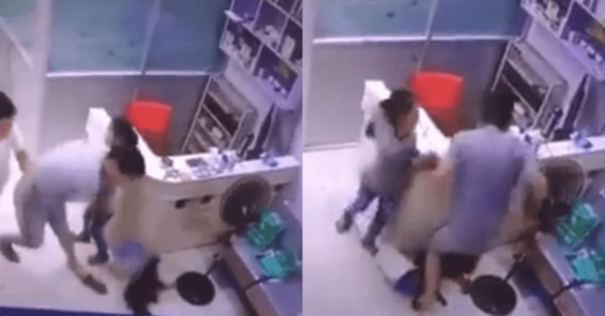 Man Slams His Dog To The Floor Because The Vet Bill Was Too High