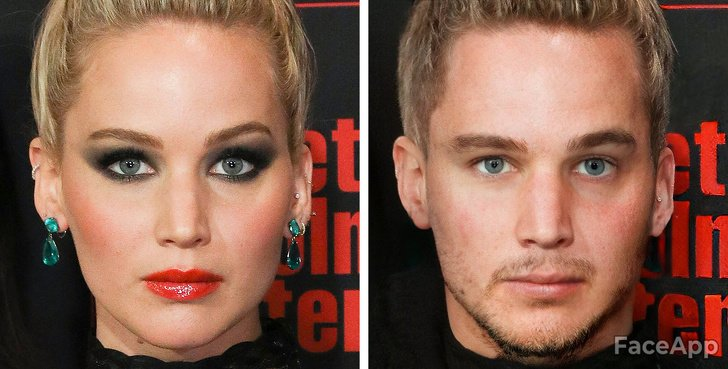 This Is What 17 Celebrities Would Look Like If They Were Born as Men