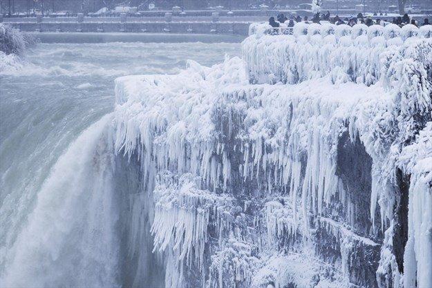 """Resultado de imagen de niagara falls winter"""""""