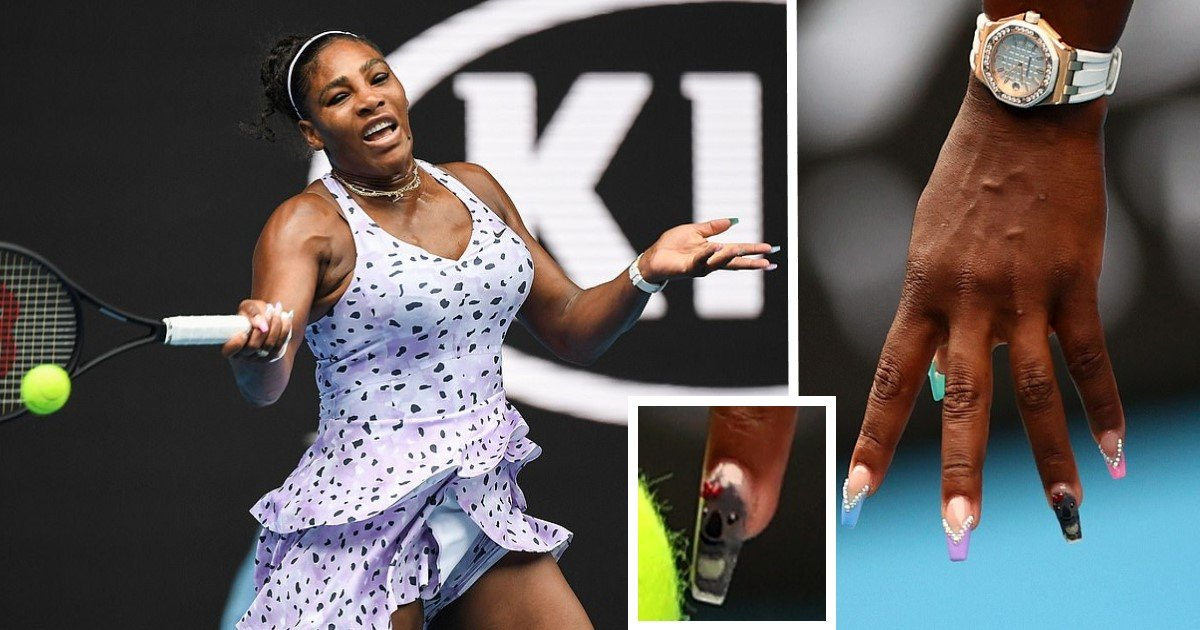 3 146.jpg?resize=1200,630 - Serena Williams Paid Tribute To Koalas With Her Meaningful Manicure