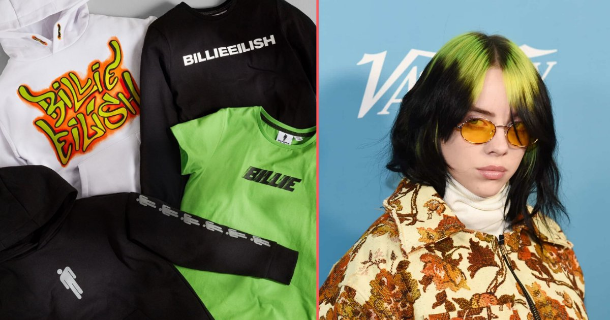 3 40.png?resize=1200,630 - Primark Launched a New Range of Billie Eilish as She was Declared to Be The Singer of The Next James Bond
