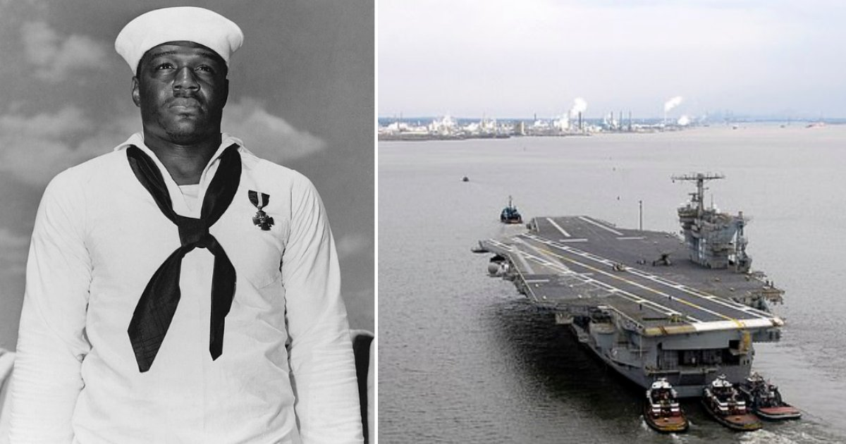 3 47.png?resize=1200,630 - World War II Hero To Be Honored By Naming An Aircraft Carrier After Him