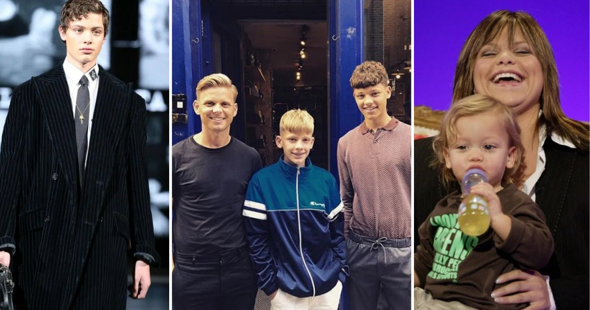 4 29.png?resize=1200,630 - Jeff Brazier and Jade Goody's Son Bobby Walked in Milan Fashion Week for Dolce and Gabbana