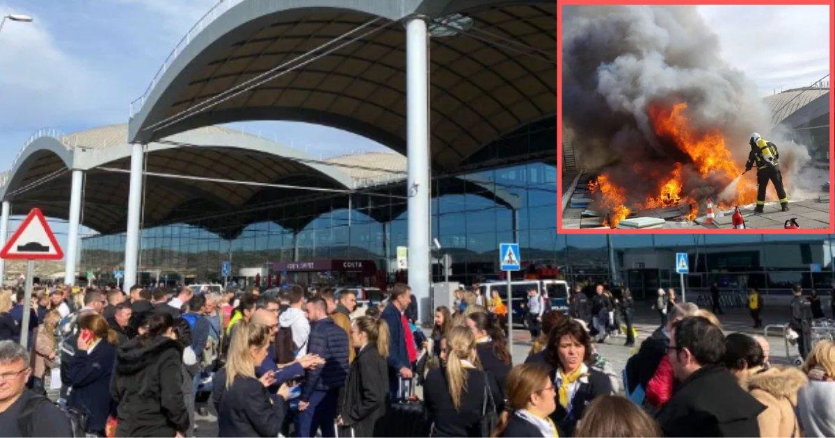 4 43.png?resize=300,169 - L'aéroport d'Alicante a dû être évacué suite à un incendie, les vacanciers étaient en panique