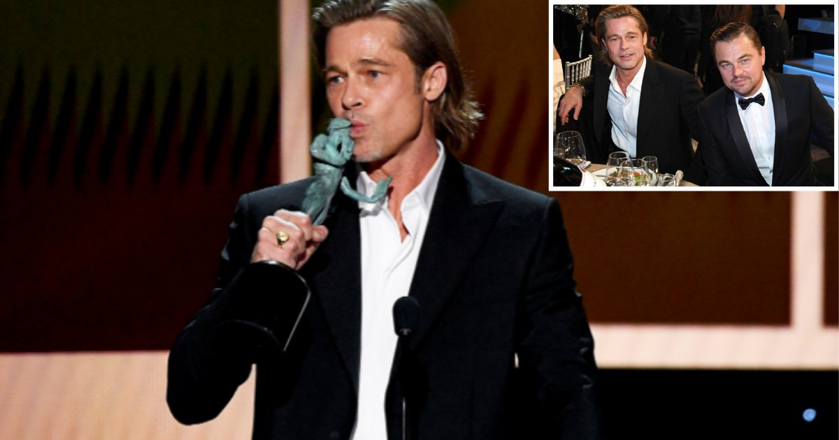 4 54.png?resize=1200,630 - Brad Pitt And Leonardo Di Caprio Rock The Stage With Their Sizzling Dance Performance