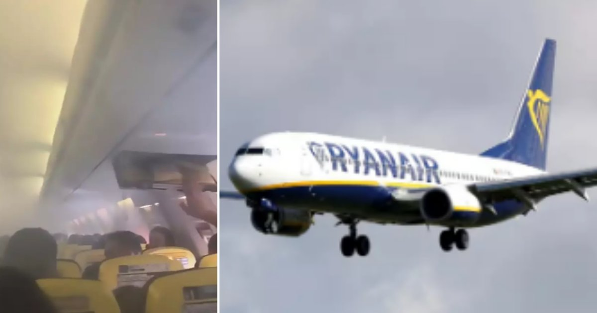 4 61.png?resize=1200,630 - The Cabin Filled With Smoke Making Ryanair Flight Execute An Emergency Landing