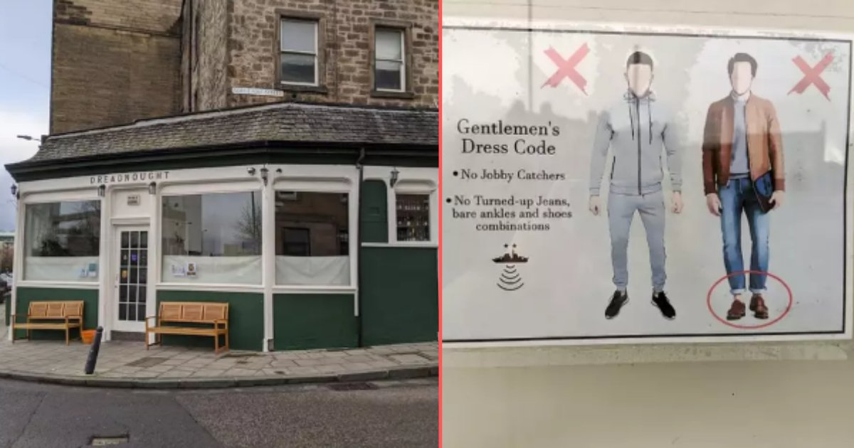 4 78.png?resize=1200,630 - Pub Placed A Ban On Men With Grey Tracksuits and Bare Ankles