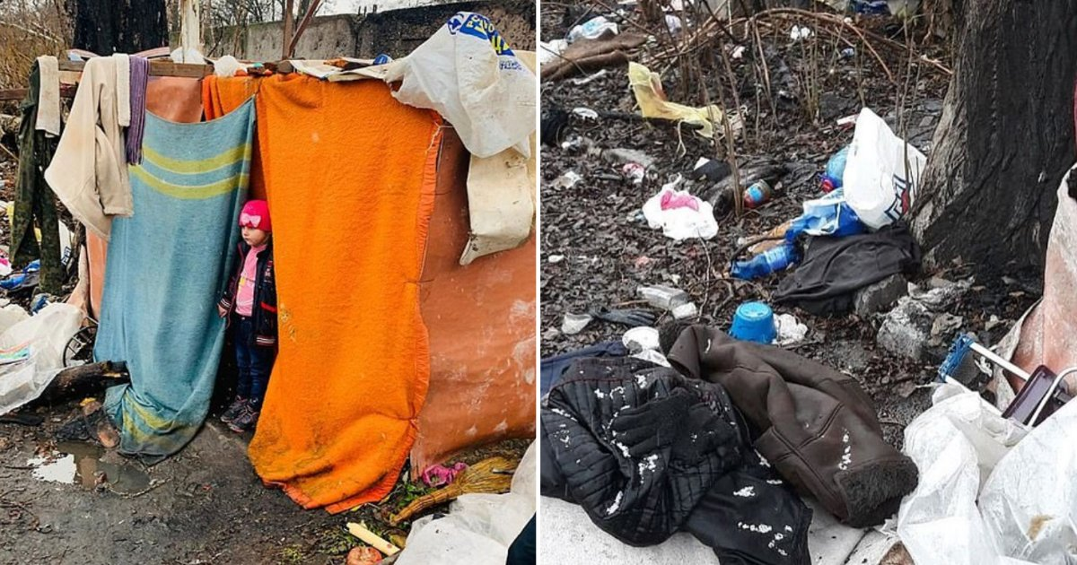 4 8.png?resize=1200,630 - Girl Was Found Living on Rubbish Dump in A Make Shift Tent Left There By Her Father