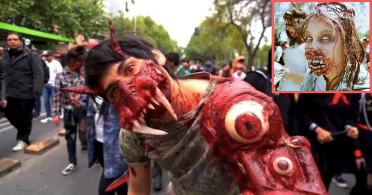 5 35.png?resize=1200,630 - Bloodthirsty Zombies Occupy The Streets In Santiago De Chile
