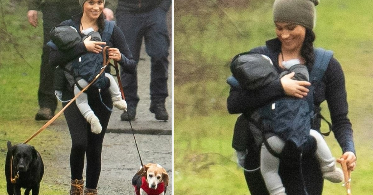 5 58.png?resize=1200,630 - People Commented On Meghan Markle's Way of Using A Baby Carrier