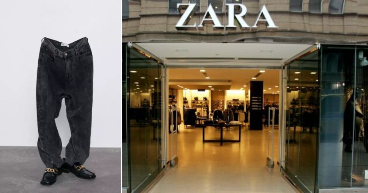 6 46.png?resize=1200,630 - Customers Were Confused About 'Ghost' Modeling For Zara's New Jeans