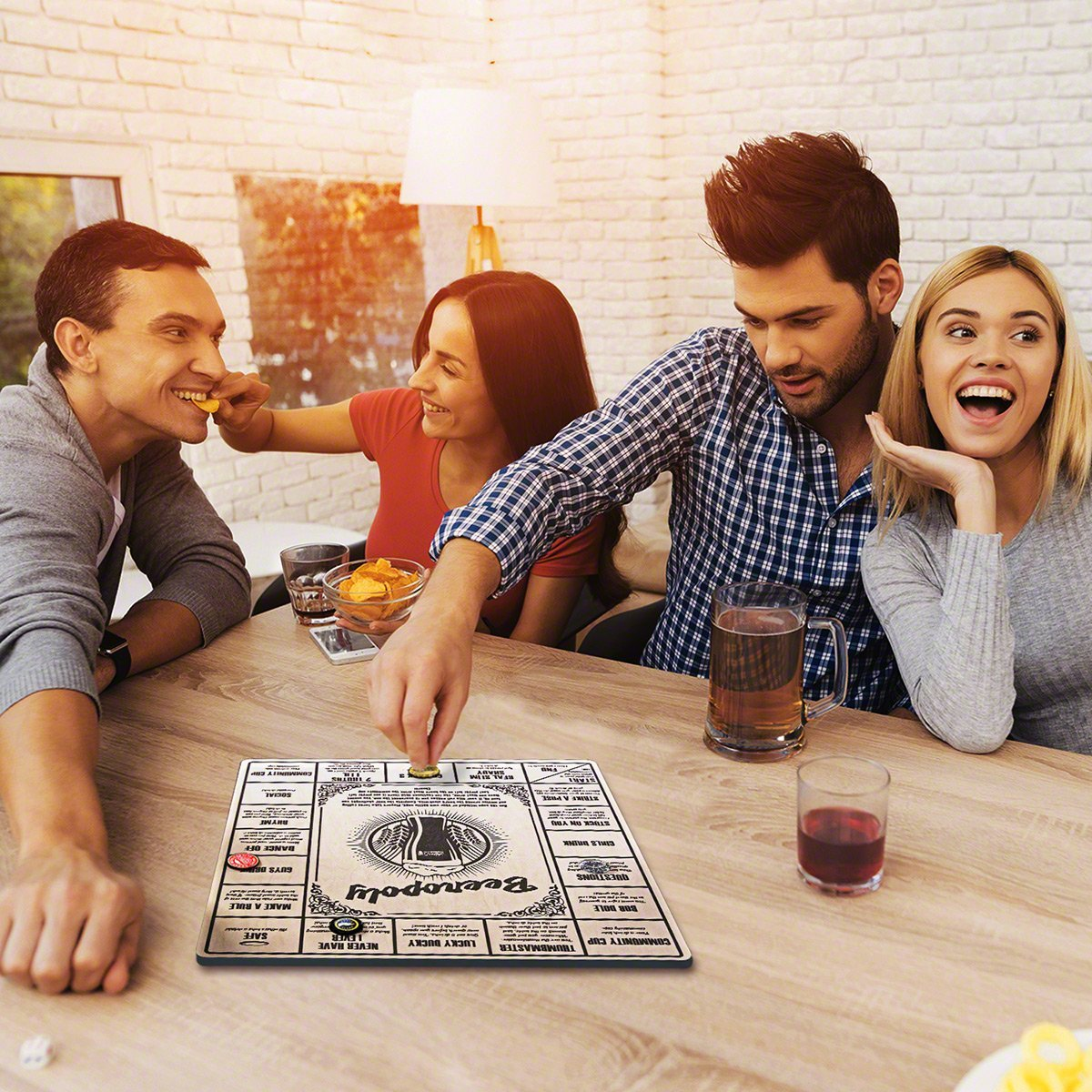 81y7awrjdrl  sl1200 .jpg?resize=412,232 - Beeropoly : Le nouveau jeu qui promet d'animer tes soirées !