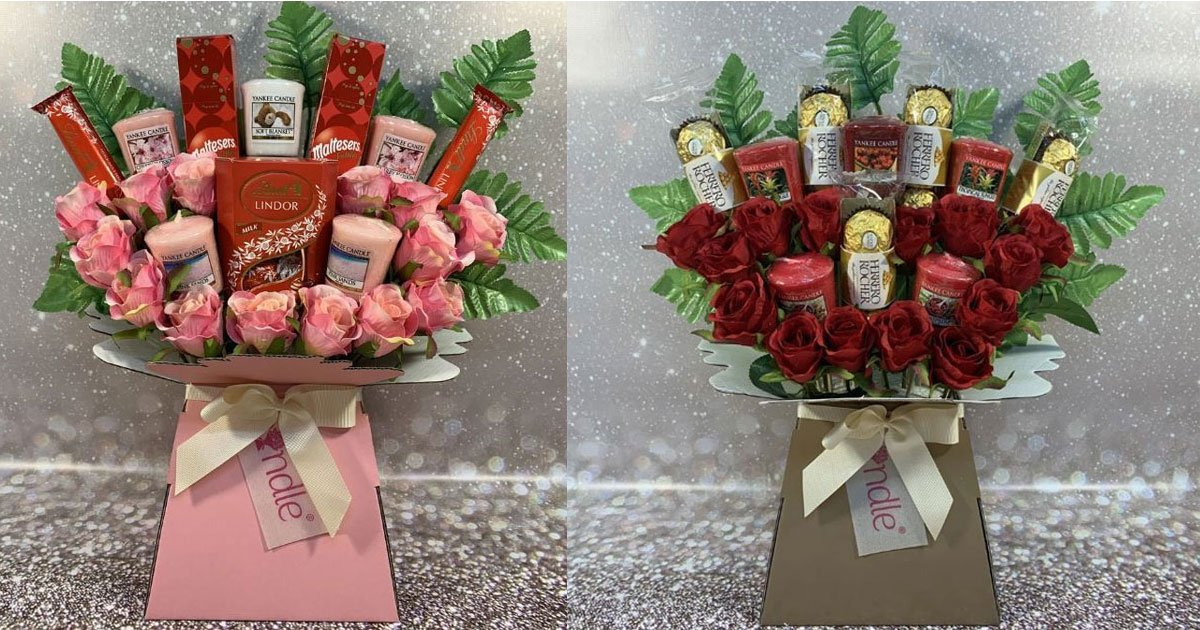 a company is selling yankee candle bouquets for valentines day.jpg?resize=1200,630 - A Company Is Selling Yankee Candle Bouquets For Valentine's Day