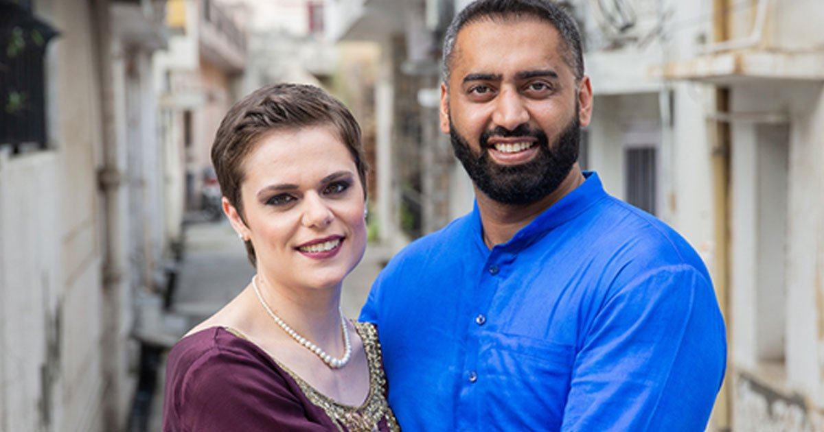 a cross cultural couple shared their experiences of overcoming judgement.jpg?resize=1200,630 - A Couple Stuck By Each Other And Got Married In Just Two Months Despite Family Disapproval