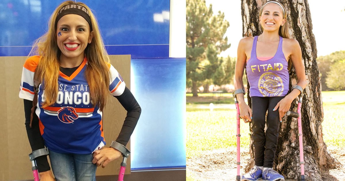 a disabled woman who made a name in both modelling and adaptive fitness is now helping others with similar conditions.jpg?resize=1200,630 - Spina Bifida Doesn't Stop This Woman From Being Beautiful