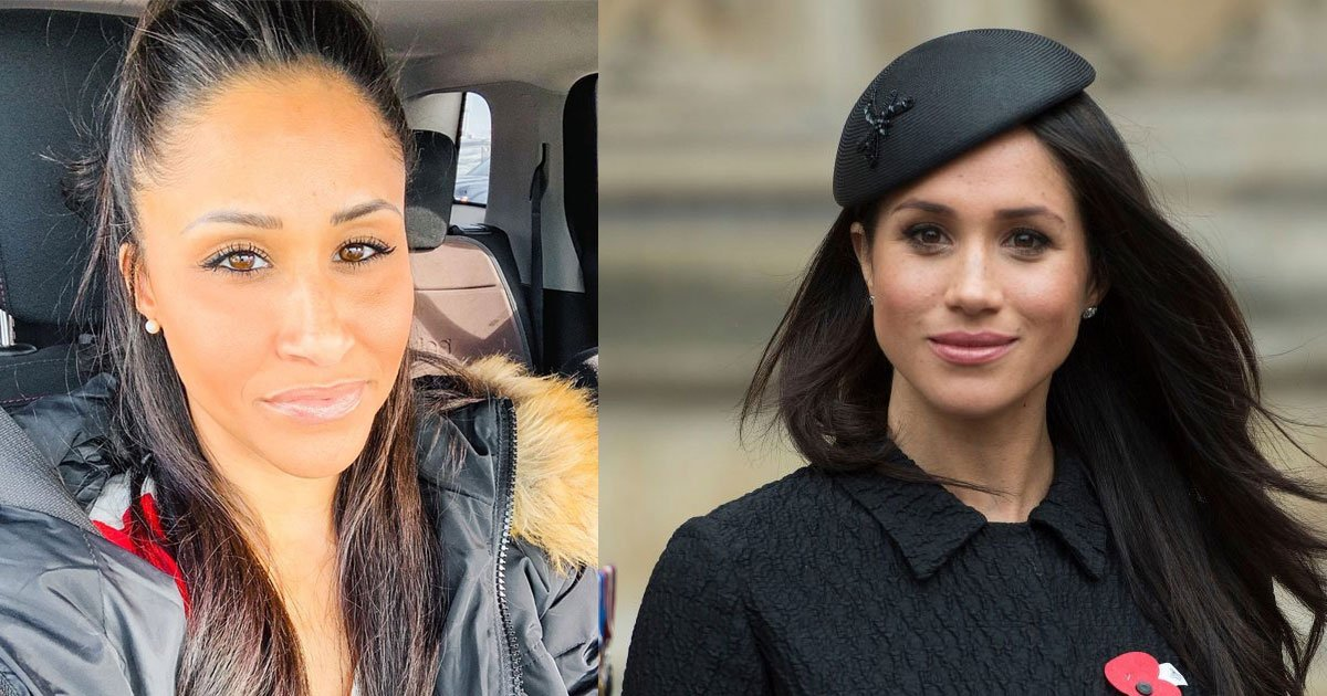 a woman always mistaken for meghan markle and people call them twins.jpg?resize=1200,630 - This Woman Is Mistaken For Meghan Markle And People Call Them 'Twins'