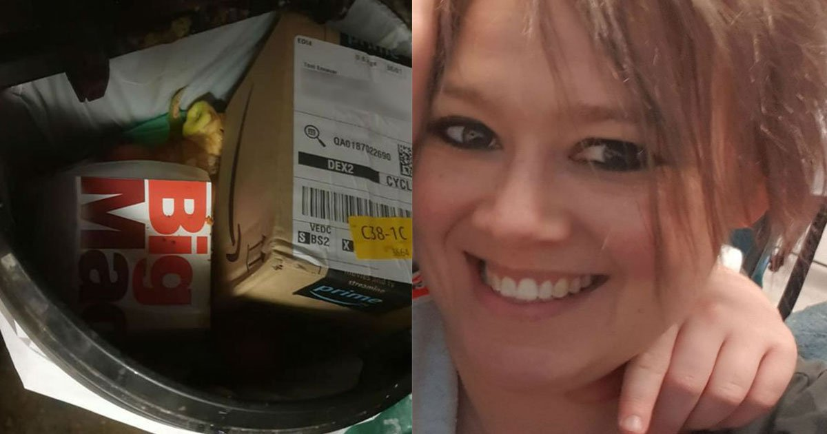 angry mom claimed her amazon parcel was thrown in a bin containing vomit.jpg?resize=1200,630 - Mom Claimed Amazon Left Her Parcel Inside A Garbage Bin