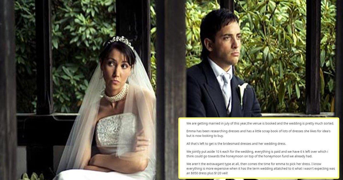 bride refused wear wedding dress.jpg?resize=1200,630 - Bride-To-Be - Who Refused To Wear A £38 Wedding Dress - Found Her Fiancé's Post Shaming Her Online
