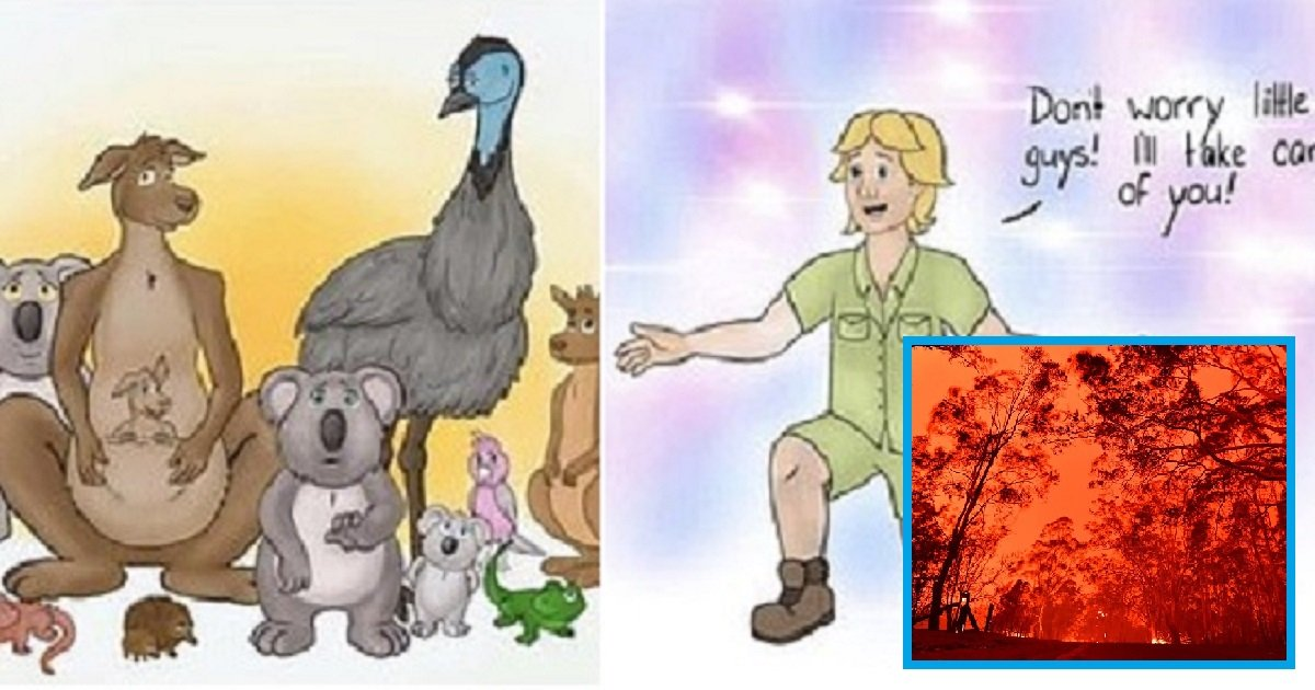 c4.jpg?resize=1200,630 - A Photo Of Steve Irwin Welcoming Animals Went Viral