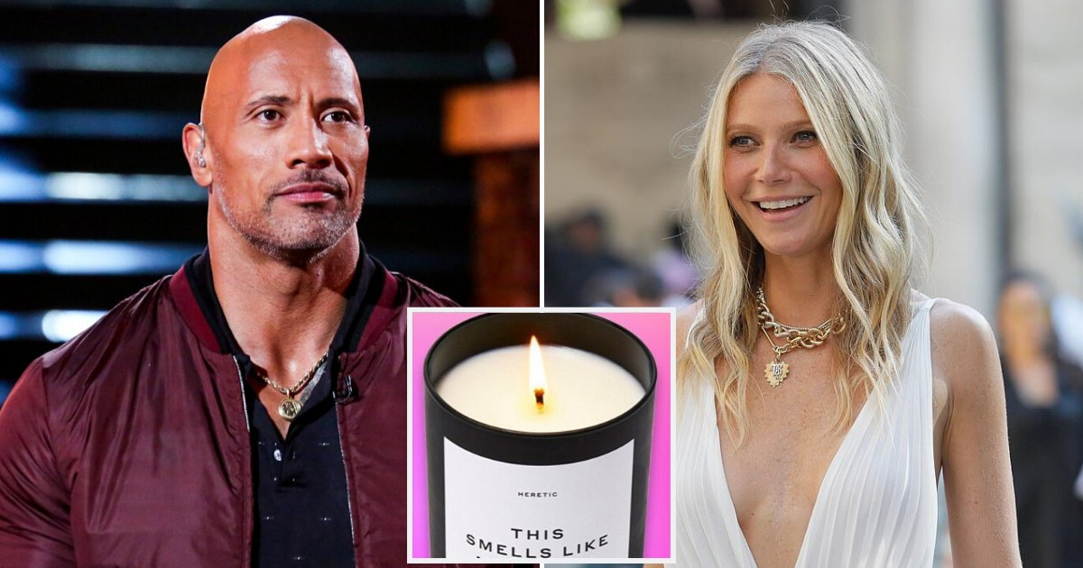 candle5.png?resize=1200,630 - Dwayne Johnson Joked About Making Scented Candles Like Gwyneth Paltrow's