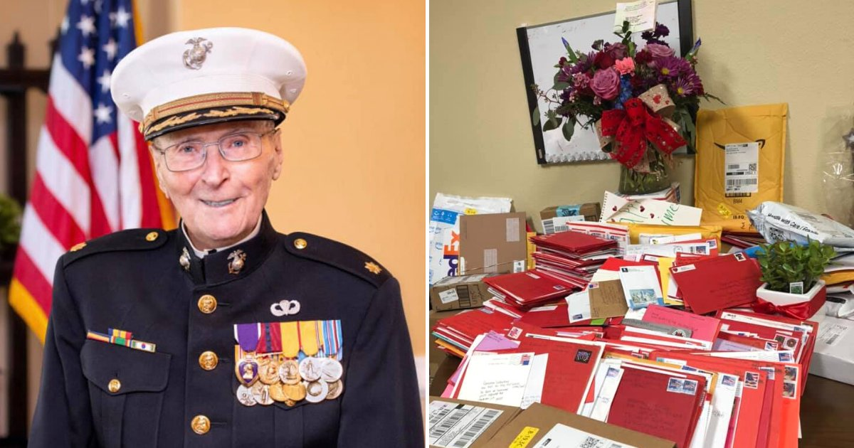 cards6.png?resize=1200,630 - 104-Year-Old Marine Veteran Received More Than 20,000 Cards And Gifts