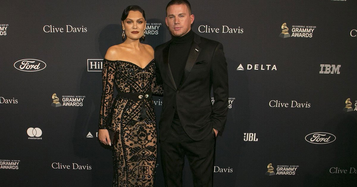 channing tatum and jessie j made an appearance on the red carpet at clive davis pre grammy gala.jpg?resize=1200,630 - Channing Tatum And Jessie J Made An Appearance Together On The Red Carpet At Clive Davis Pre-Grammys Gala