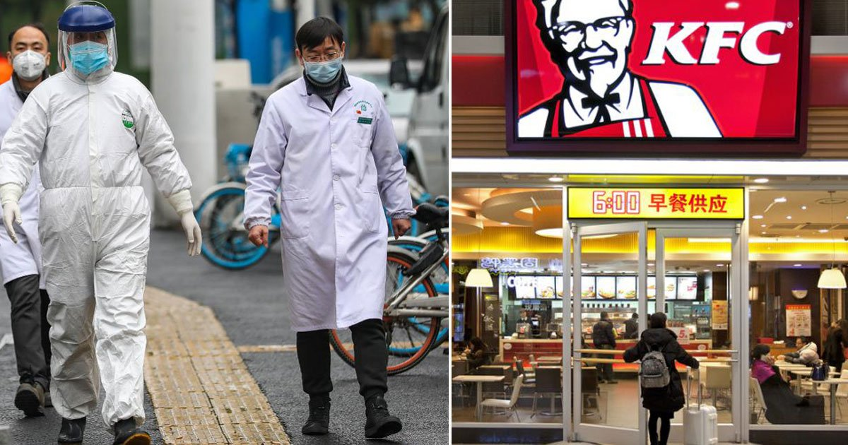 china fast food chains closed virus.jpg?resize=1200,630 - Major Fast-Food Chains and Retailers in China Announced a Temporary Closure as Coronavirus Continues to Spread