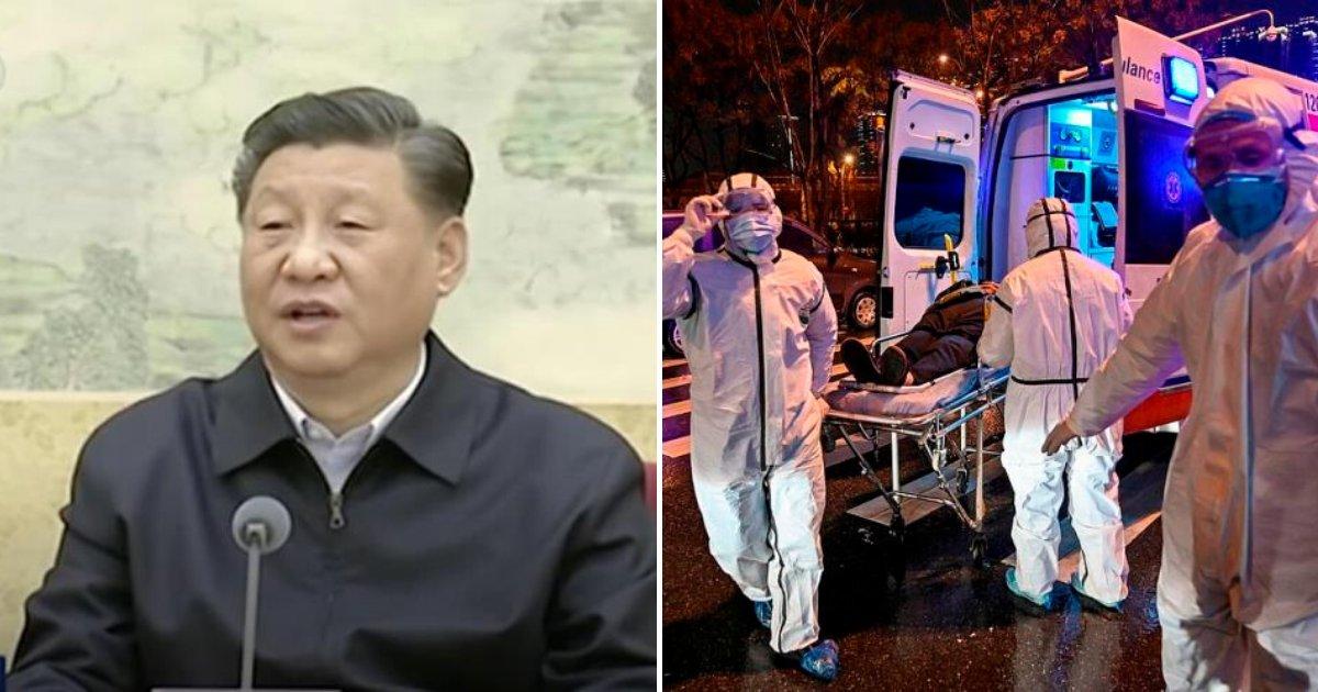 china6.png?resize=1200,630 - China's President Xi Jinping Warned Of 'Grave Situation' As Coronavirus Infects Thousands Of People Worldwide