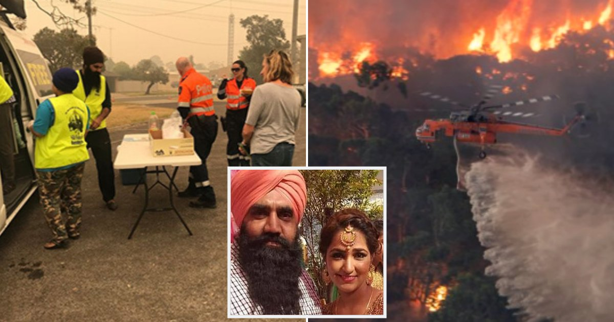 curry4.png?resize=1200,630 - Restaurant Owners Handed Out Free Rice And Curry Meals To Hundreds Of Bushfire Victims In Australia