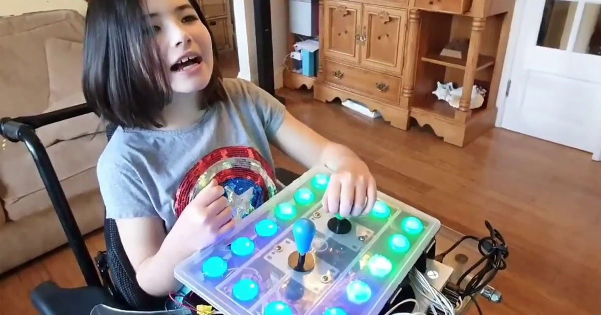dad built custom xbox adaptive controller so daughter can play breath of the wild.jpg?resize=412,232 - Dad Built A Custom Xbox Adaptive Controller So Daughter Could Play 'Zelda: Breath Of The Wild'