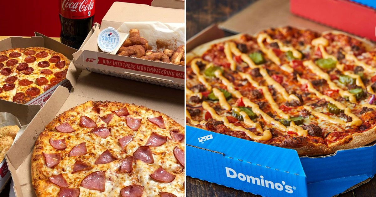 dominos free pizza.jpg?resize=1200,630 - Here's How You Can Get A Free Pizza From Domino's