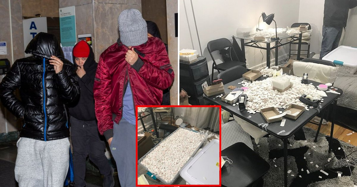 drug5.png?resize=1200,630 - Six Suspects Behind $7M Fentanyl Ring Were Released Without Bail Under NY's New Criminal Justice Law
