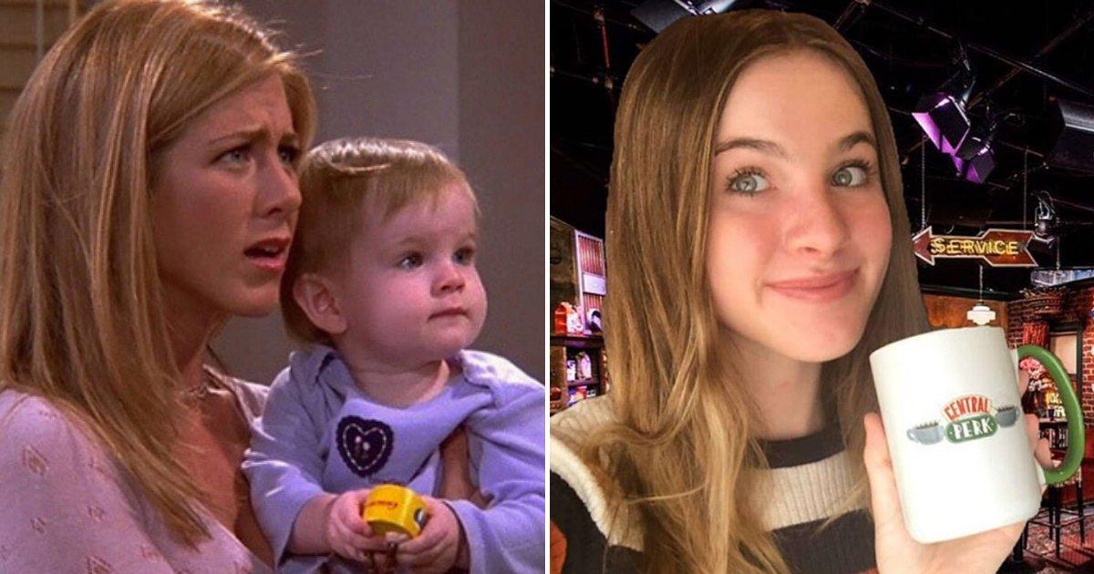 emma6.png?resize=412,232 - Le bébé de Ross et Rachel dans Friends a bien grandi : Elle répond à une blague de Chandler
