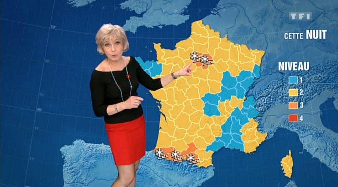 evelyne dheliat.jpg?resize=1200,630 - Evelyne Dhéliat sera-t-elle bientôt remplacée par une présentatrice météo plus jeune ?