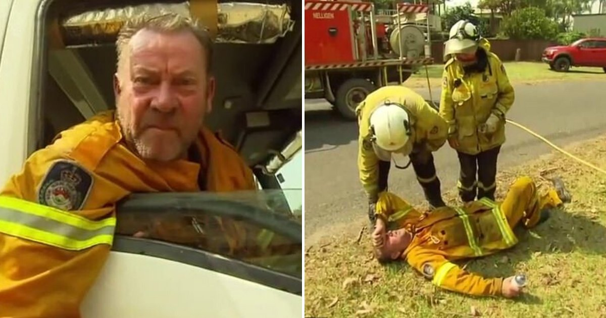 firefighter6.png?resize=1200,630 - Furious Firefighter Delivered Blunt Message To PM Scott Morrison Before Collapsing On The Ground