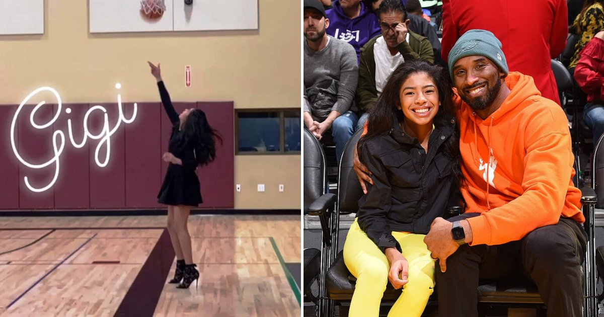gigi7.png?resize=1200,630 - Heartbreaking Video Shows Kobe Bryant's Daughter, Gianna, Practicing Basketball Skills Weeks Before The Crash