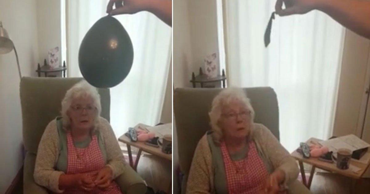 grandma ruined gender reveal.jpg?resize=412,232 - Foul-Mouthed Grandmother Ruined Granddaughter's Gender Reveal