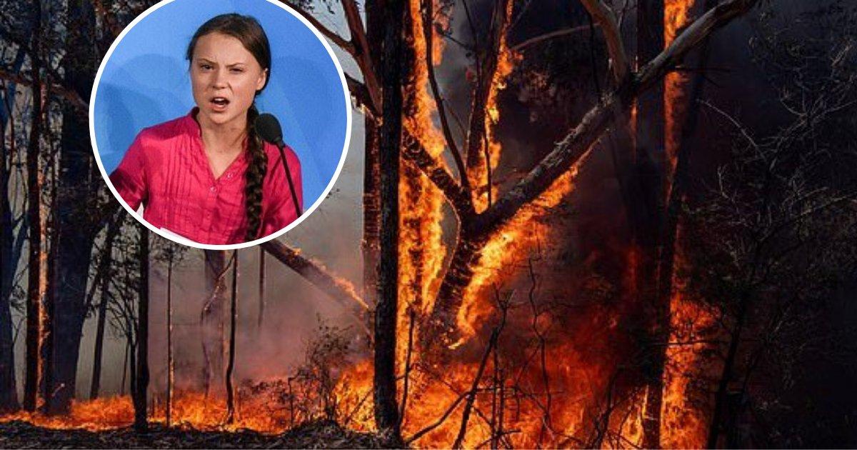 greta5.png?resize=1200,630 - Greta Thunberg Took Another Swipe At Australia's Leaders Over Bushfire Crisis
