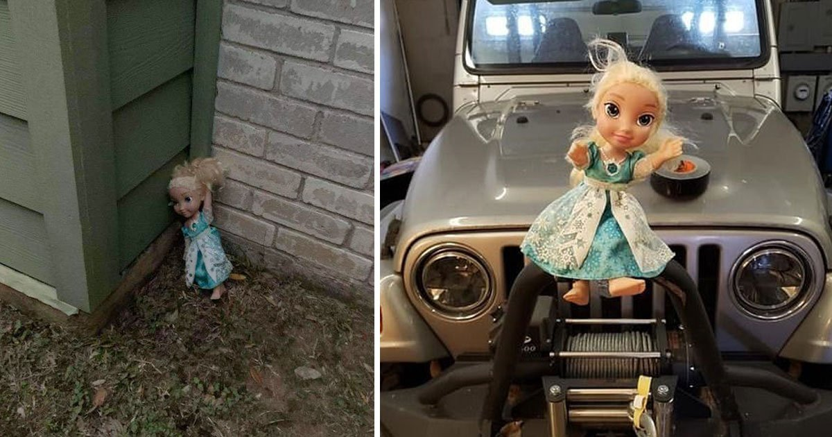 haunted elsa doll.jpg?resize=1200,630 - Haunted Elsa Doll - Who Was Thrown Out Twice By Its Owners - Keeps Coming Back