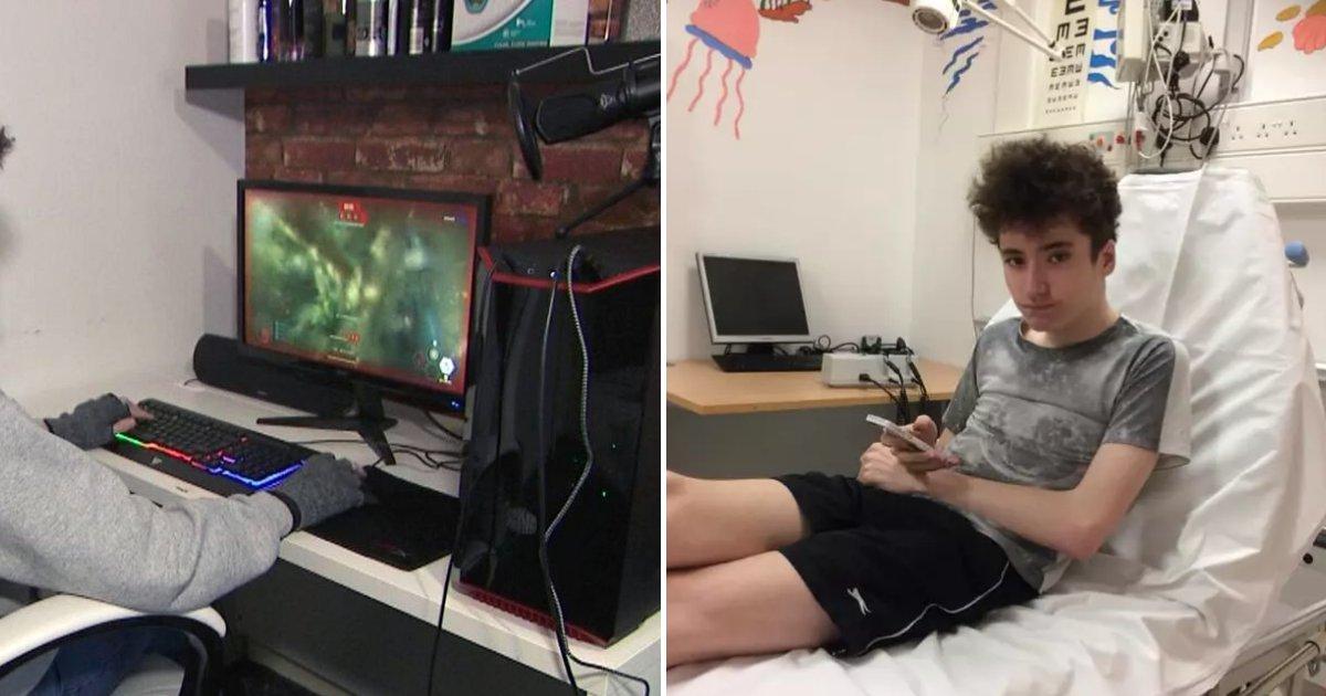 A 17 Ans Il A Une Attaque En Jouant A Des Jeux Video La Personne Qui Jouait En Ligne Avec Lui Le Sauve Vonjour