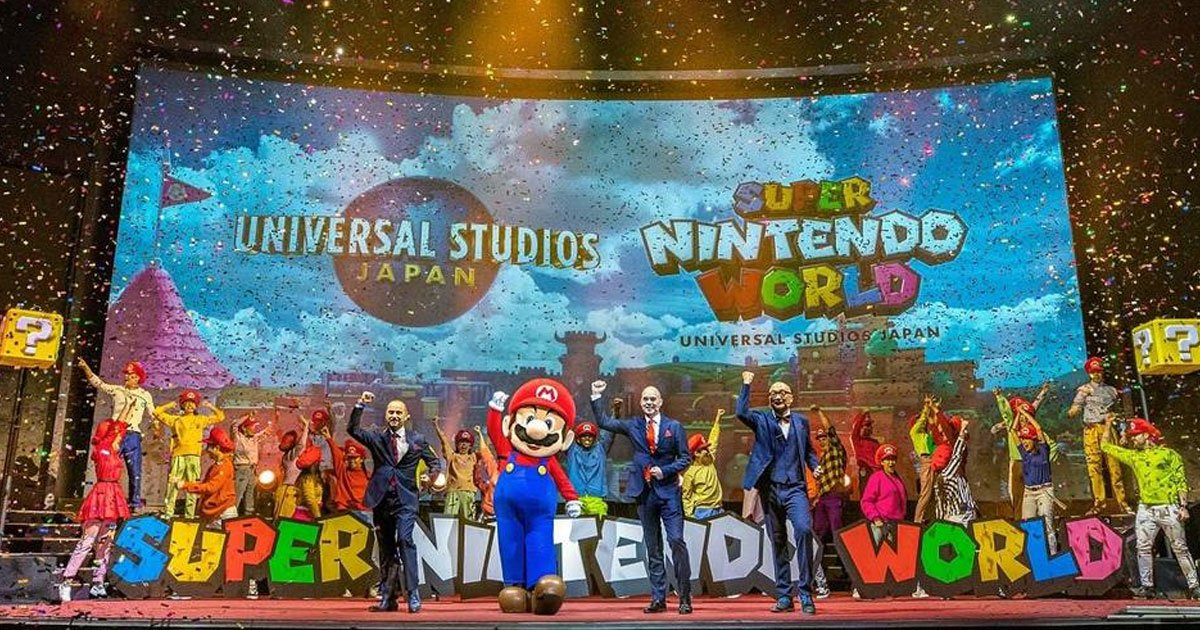 japans nintendo theme park will allow visitors inside their favorite games.jpg?resize=1200,630 - Super Nintendo World Theme Park Will Allow Visitors To Feel As If They Are Inside Their Favorite Video Games