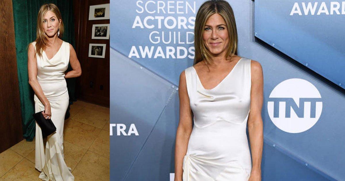 jennifer aniston revealed how she avoided wrinkling her sag awards gown.jpg?resize=300,169 - Jennifer Aniston Revealed How Hard It Was For Her To Avoid Wrinkling Her SAG Awards Gown