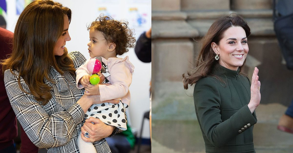 kate middleton cuddled up with a toddler during her visit to bradford.jpg?resize=412,232 - Kate Middleton Cuddled And Danced With A Toddler During Her Visit To Bradford